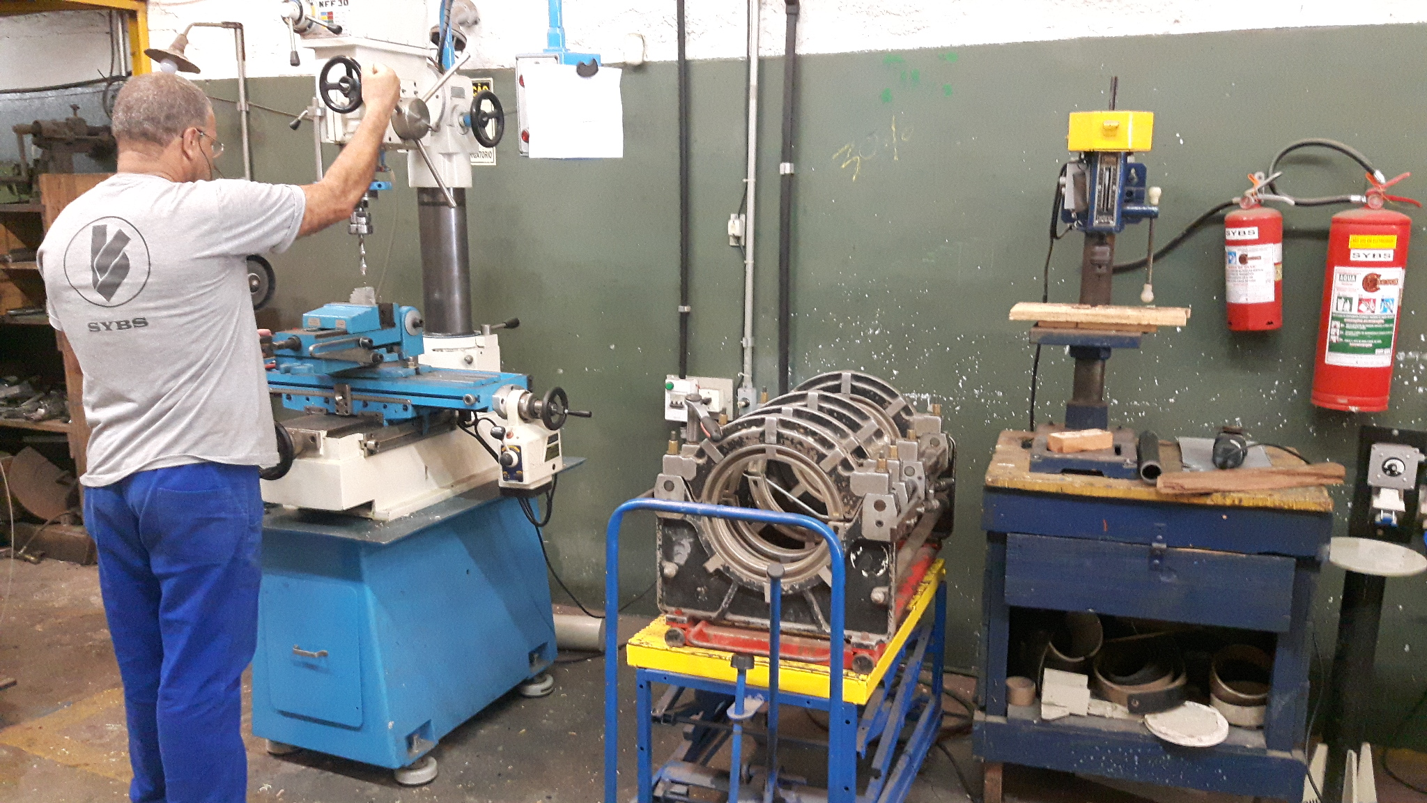 Manutenção em Máquinas de Solda - Foto 01